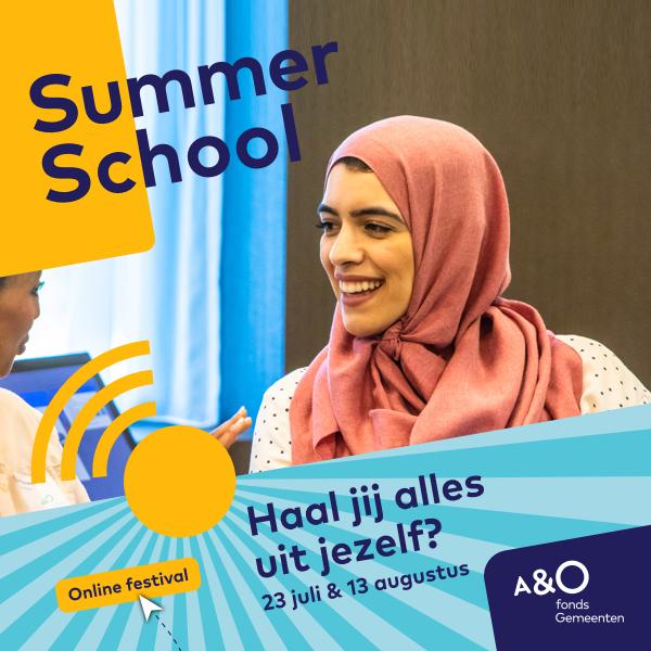 AO Summer School 2020 campagnebeeld Hind 600 x 600