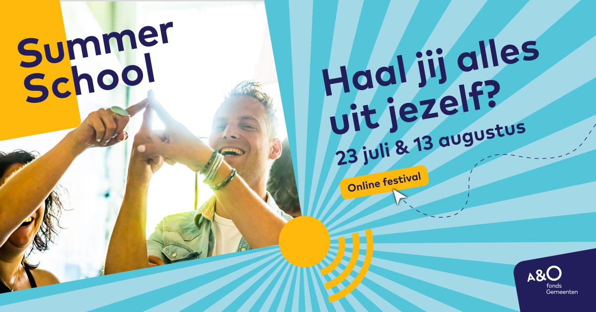 AO Summer School 2020 campagnebeeld Pieken facebook 1200 x 628