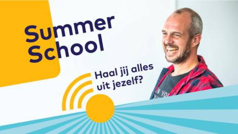 Summerschool 2020 komt er aan!