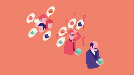 Innovatie-adviseurs steken de koppen bij elkaar