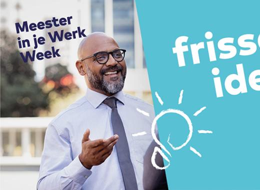 Workshops Meester in je Werk Week uitverkocht
