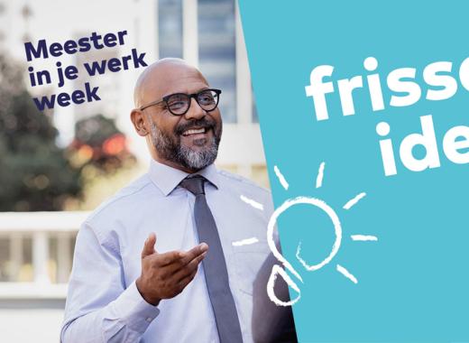Subsidie voor projectleider Meester in je Werk Week