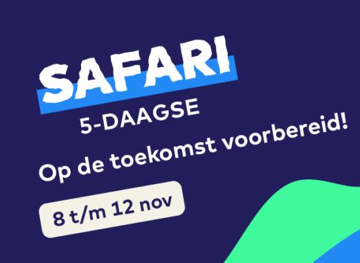 Safari 5-daagse startbijeenkomst gemist?