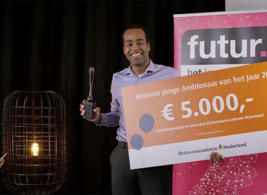 Kaj van Brummelen is Jonge Ambenaar van 2021