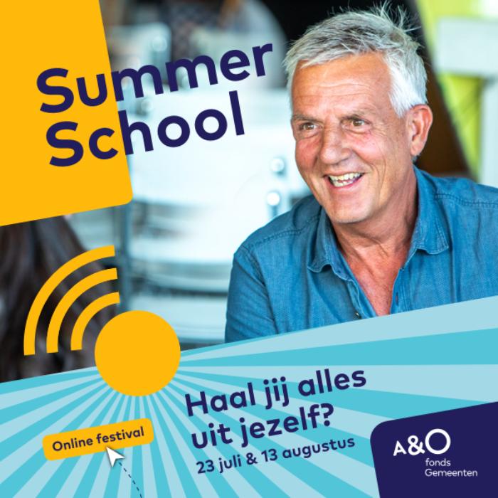 AO Summer School 2020 campagnebeeld Emil 600 x 600