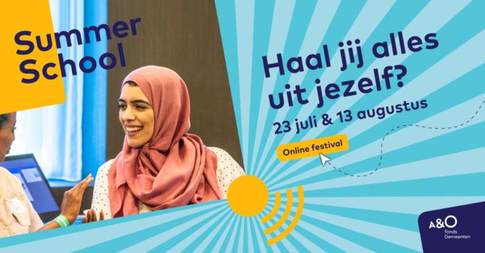 AO Summer School 2020 campagnebeeld Hind facebook 1200 x 628