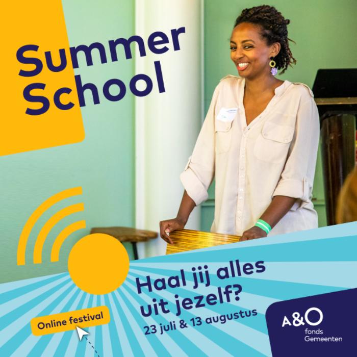 AO Summer School 2020 campagnebeeld Shewit 600 x 600