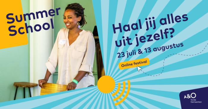 AO Summer School 2020 campagnebeeld Shewit facebook 1200 x 628