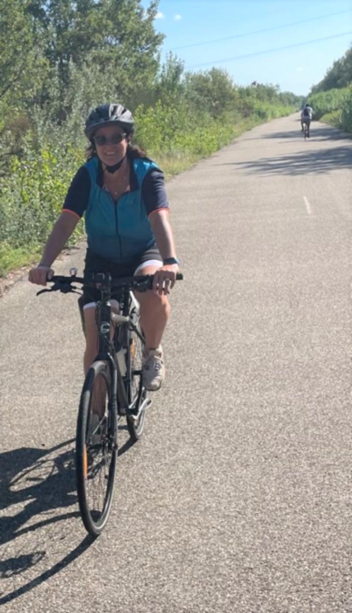 Fieke Horsten fiets 800