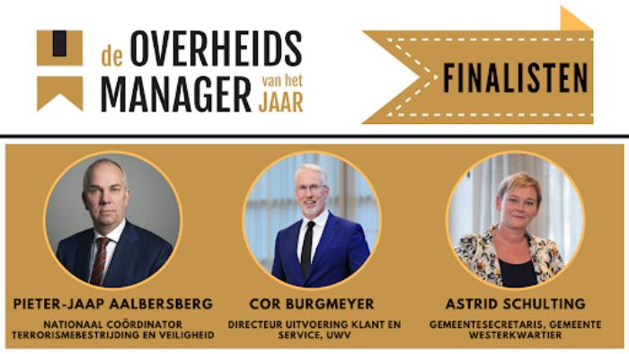 Overheidsmanager van het jaar 2021 - managers