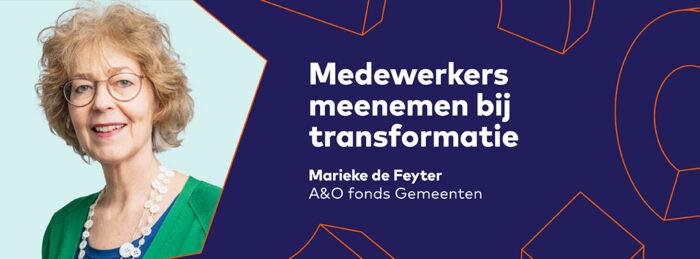 Werken aan innovatie Sprekers Banners Agenda Mariekede Feyter Aen O 1080x400