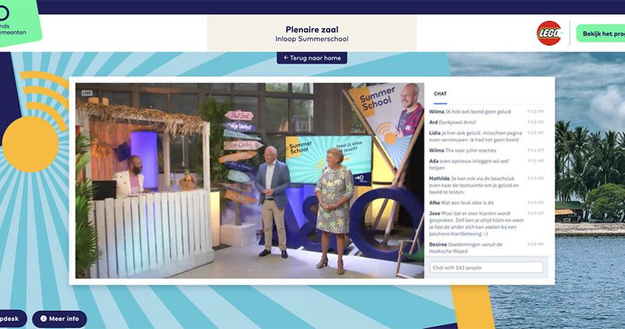 Summerschool 2020 platform opening1