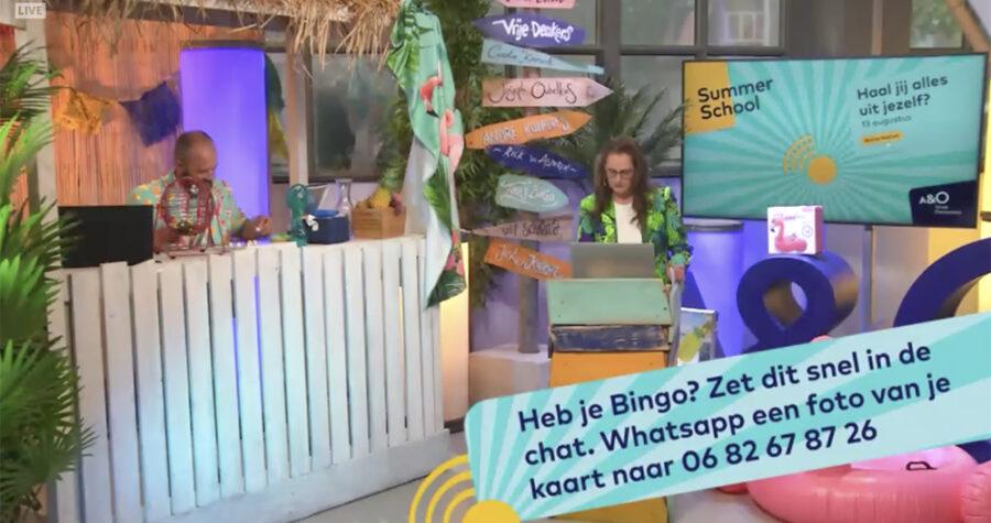 Summerschool 2020 platform studio bingo